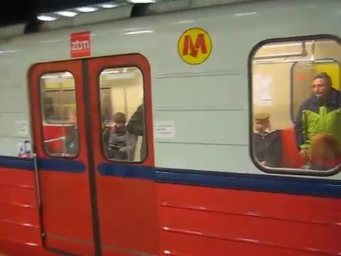 Варшавское метро/Warsaw metro