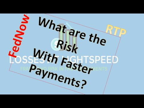 What are the risks with faster payments?