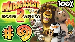 Madagascar Escape 2 Africa Walkthrough Part 9 (X360, PS3, PS2, Wii) 100% - The Watering Hole (2)