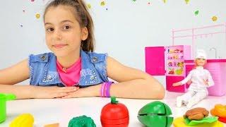 Профессия для Барби -  повар! Приключения Барби - Мультики для девочек