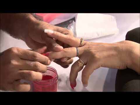 Demo of Lure Nails by Nail expert Shivani Sharma