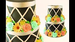 2 Tier Drum Cake Tutorial for Melbourne Inspiration Day- Rosie's Dessert Spot