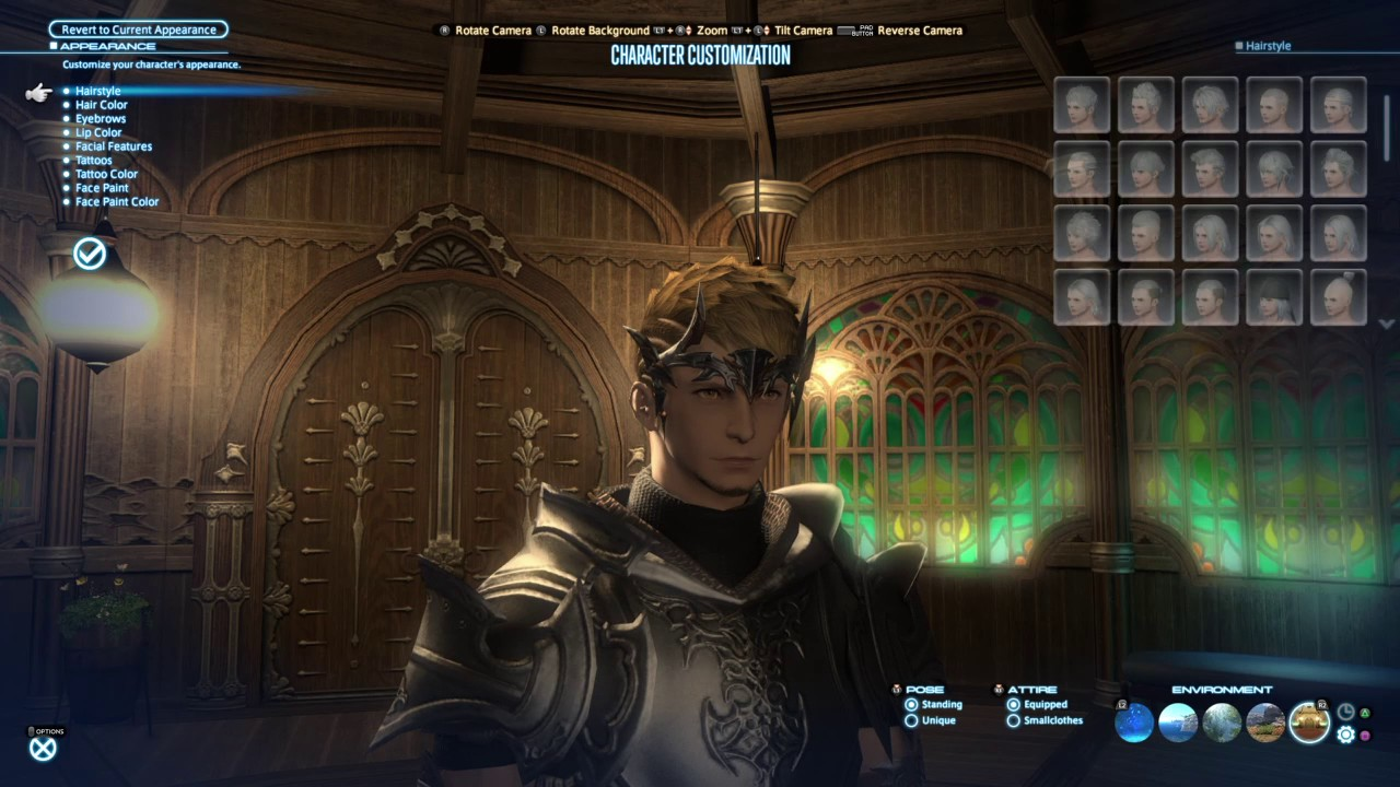 Final Fantasy Xiv Stormblood New Hair Styles Youtube