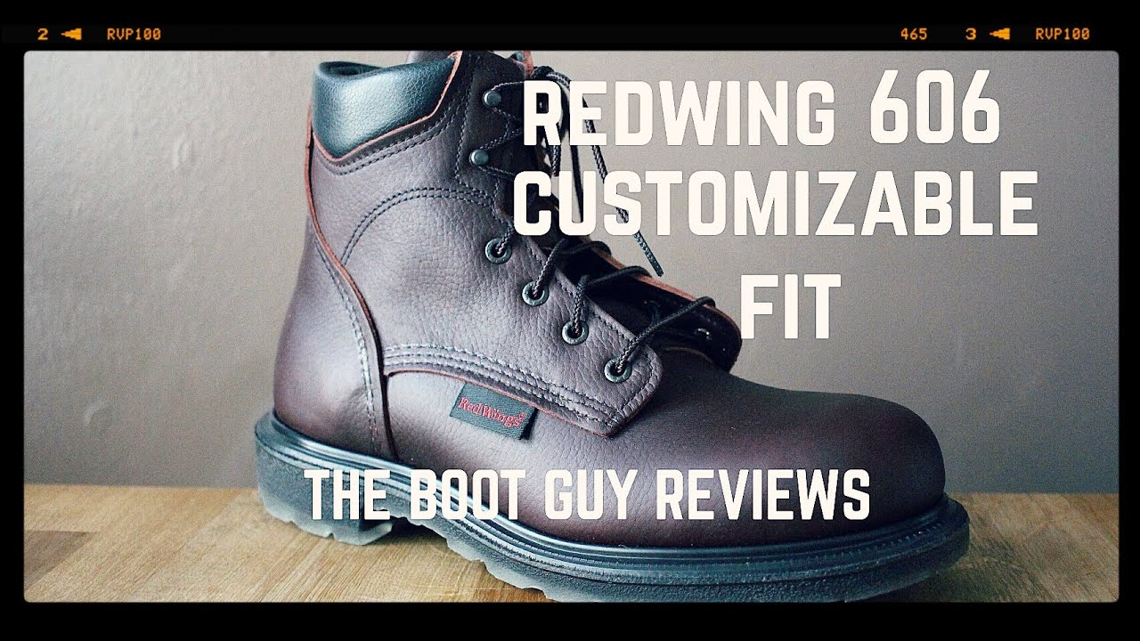 REDWING SHOES # 606 Men's 6-inch Boot [ THE BOOT GUY REVIEW ...