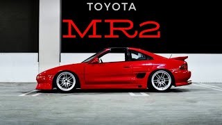 Toyota MR2 sw20 JDM  POV 4k