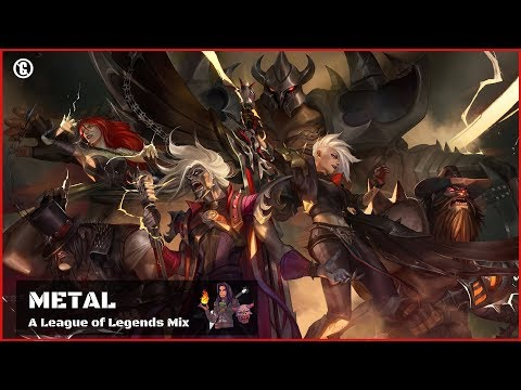 Music for Playing LOL 🎸 Best METAL Songs 🎸 Playlist to play League of Legends