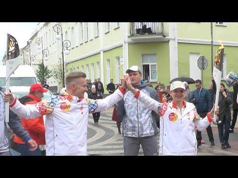 Пинск принял эстафету огня II Европейских игр