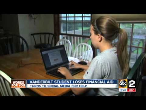 Vanderbilt student crowd funds tuition after mother's suicide