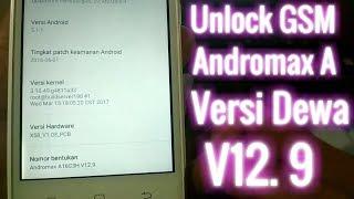 Unlock GSM Andromax A Versi Dewa (12.9) speed 1.25