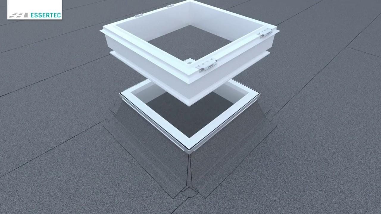 Flachdachfenster rund  Anleitung: Lichtkuppeln / Flachdachfenster (eckig) sanieren bzw ...
