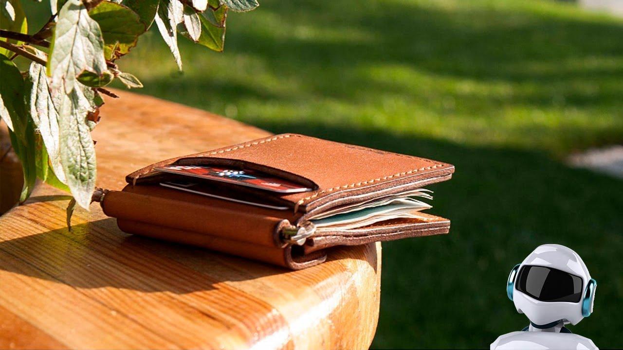 Мужской кожаный мини-кошелек Audi, 3141700200 - YouTube