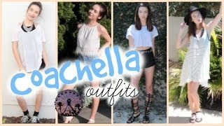 Festival Outfits! ♡Coachella Inspired Looks♡ Thumbnail