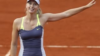 Sharapova VS Hsieh Highlight 2013