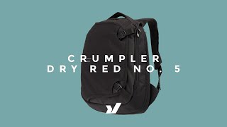 The Crumpler Dry Red No.5 Backpack Thumbnail