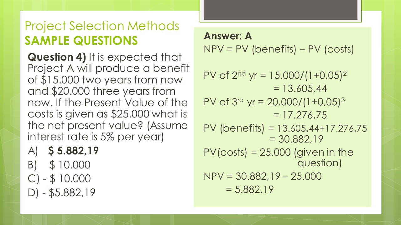 Pmp Certification Math Prep In Detail Questions And Answers