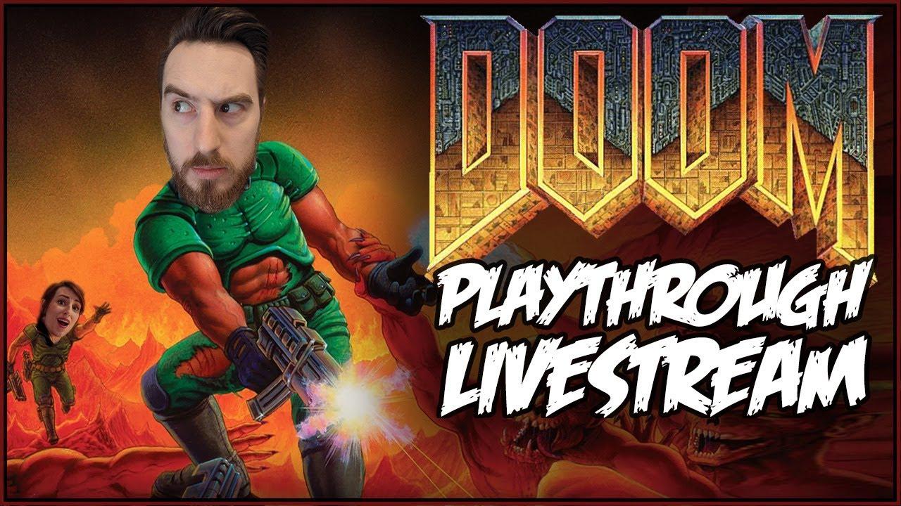 DOOM (1993) Playthrough Livestream