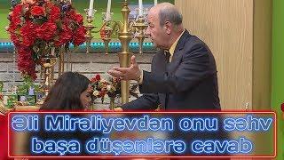 """Əli Mirəliyevdən onu səhv başa düşənlərə cavab: """"Atmamışam..."""""""