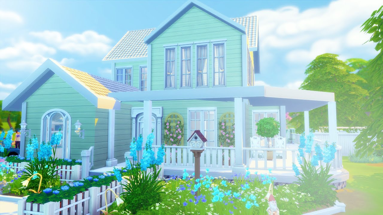 The sims 4 speed build la flora family home youtube for What is family home