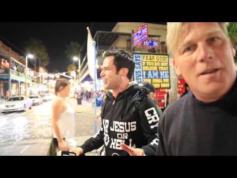 Street Preaching - Ybor City