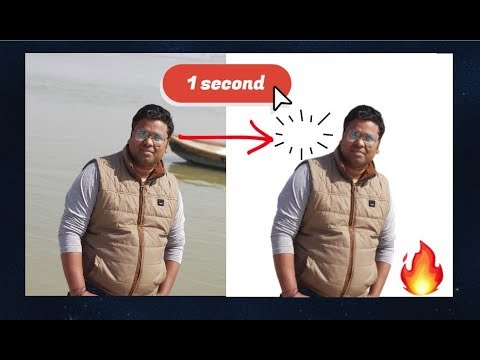 Photo Background Remove In Just 1 Second 👌 Background Eraser