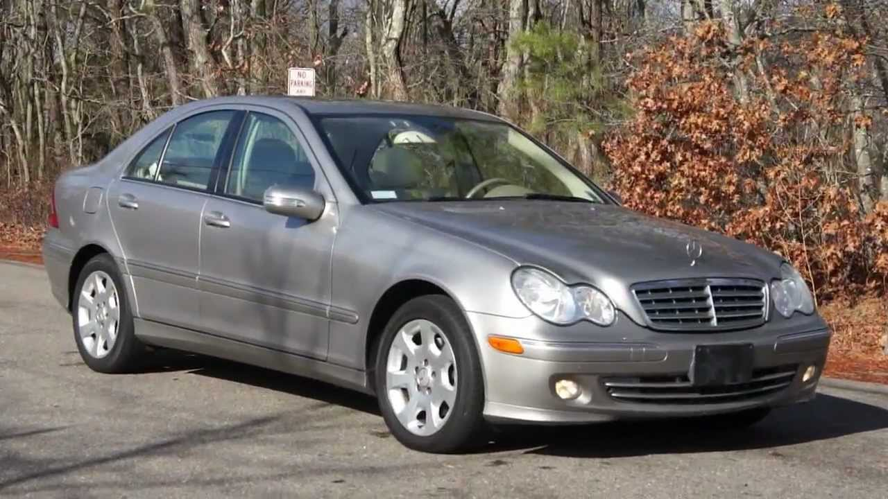 medium resolution of 2006 mercedes benz c280 4matic for sale 4wd awd v6 navigation moon roof heated seats youtube