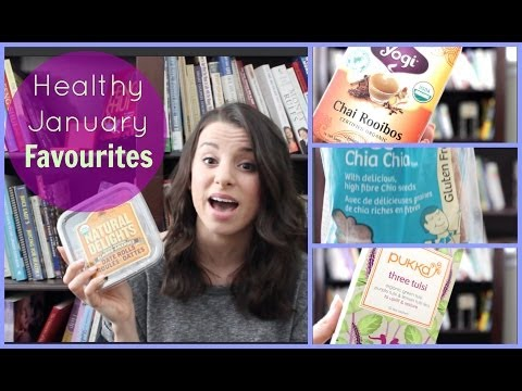 ♡ Healthy January Favourites ♡ Gluten Free, Dairy Free & Organic Foods!