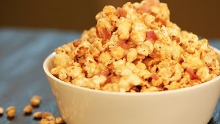 Bacon Caramel Popcorn - Super Simple Recipe