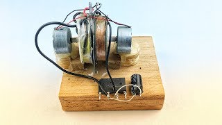 Make 100% Free Energy Generator 9V To 16V Electricity Science Experiment 2019 | Home Invention
