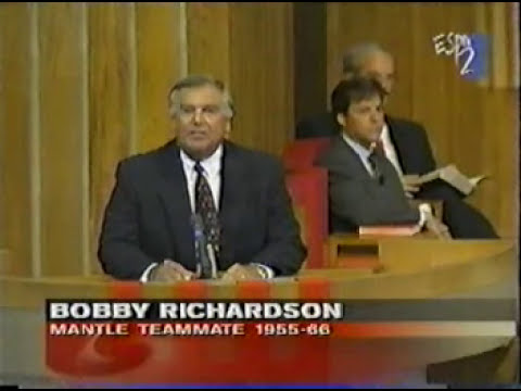 Bobby Richardson shares the Gospel at Mickey Mantle Funeral