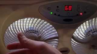 Review bionaire bw2300 best window fan with remote