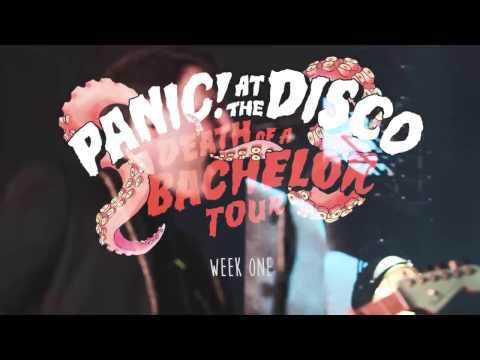 Panic! At The Disco - Death Of A Bachelor Tour (Week 1 Recap)