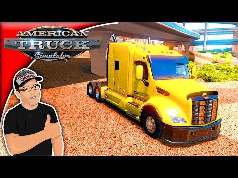 American Truck Simulator Mods Tom Dooley's Enhanced Peterbilt 579 Mod Review