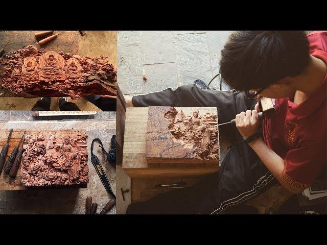 Nghệ Nhân Trẻ đục những pho tượng SIÊU NHỎ cực kỳ Ấn Tượng | woodworking skill
