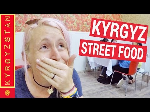 Kyrgyzstan food - traditional Kyrgyz street food the BEST and WORST