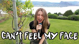 Can't Feel My Face - The Weeknd (Cassidy Mackenzie Cover)