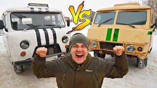 Буханка против буханка инкассатор! Какая машина лучше?
