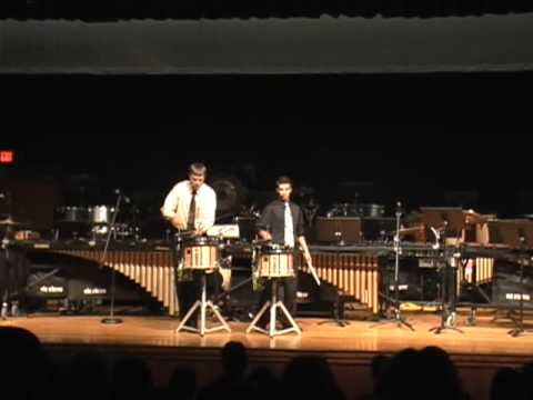 Dartmouth Night of Percussion Snare Duet 2009