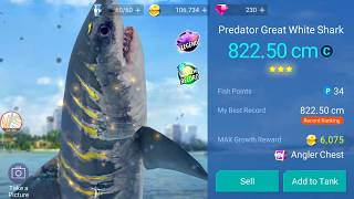 Legendary Preator Great White Shark Catch Lucky Gameplay 2 Fishing Strike