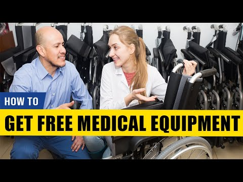 How To Get Free Used Medical Equipment
