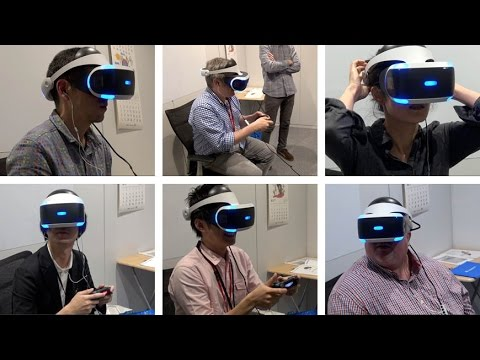 The PlayStation VR comes to The Japan Times