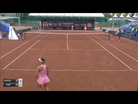 Kovinic Danka v Cepelova Jana - 2017 ITF Budapest