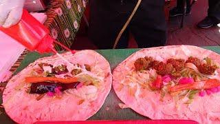 EGYPTIAN FALAFEL SANDWICH WRAPS: Delicious Middle Eastern Vegetarian Street Food in Waterloo, London