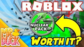 Roblox Destruction Simulator - IS NUCLEAR PACK WORTH IT?!