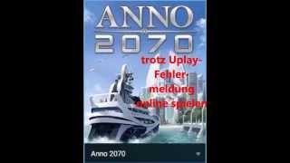 LÖSUNG: Anno 2070 startet nicht! [deutsch]