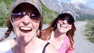 Two Girls in Alaska- Peak Hike & Shenanigans