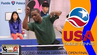 Second Annual Hawkeye Open - Azeez Jamiu vs. Raymond Lui (Final) Highlights