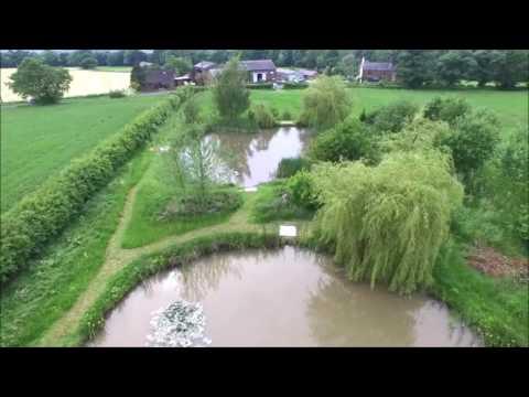 Shyhawk imaging aerial video of Crook Hall Farm