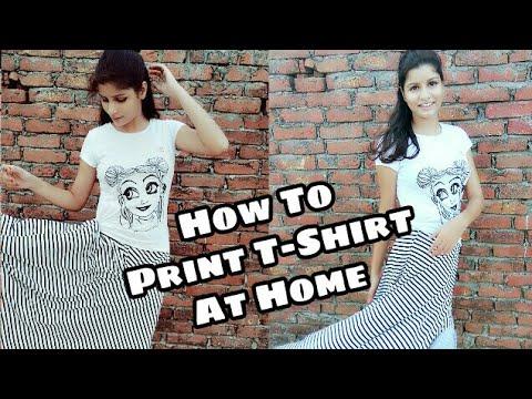 How to print t shirt at home diy t shirt printing easy for How to print in t shirt at home