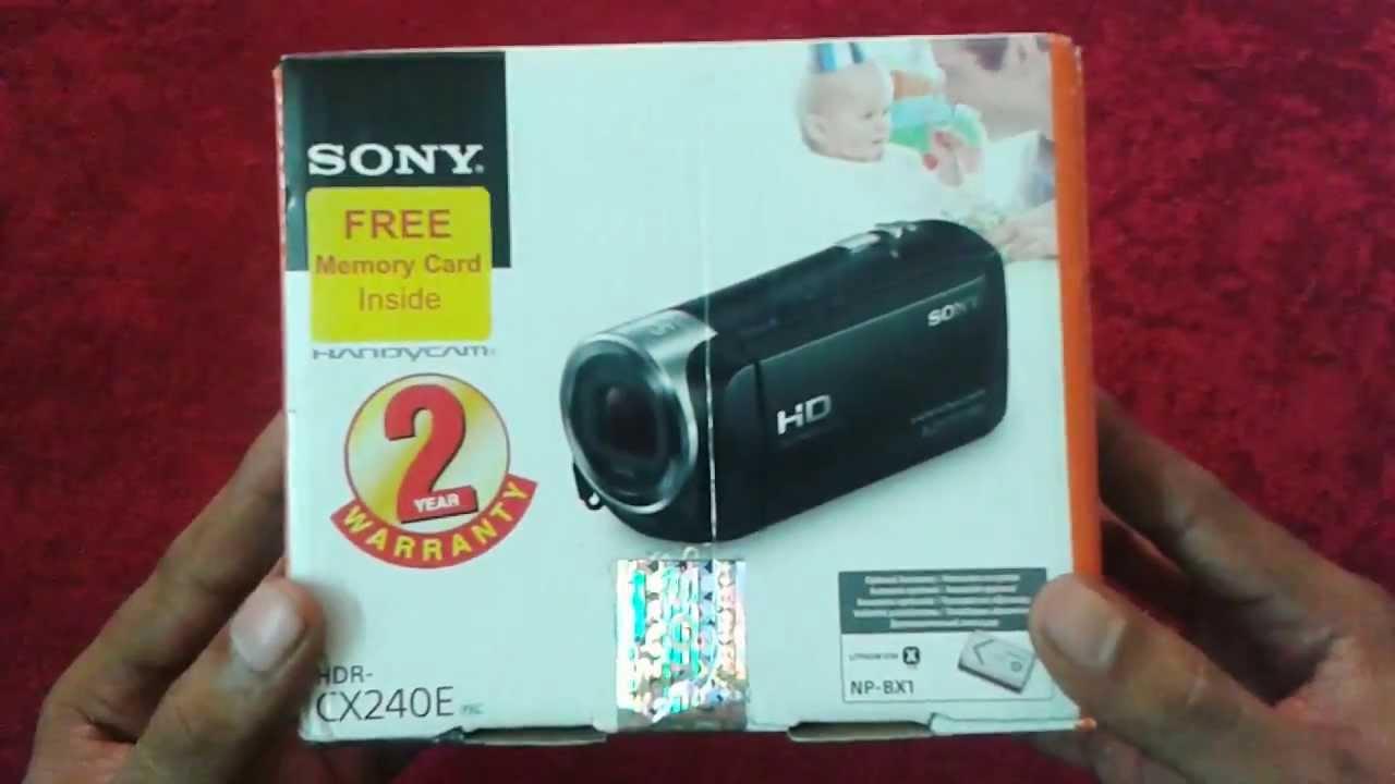 HD Handycam® | HDR-CX440 | | Sony US