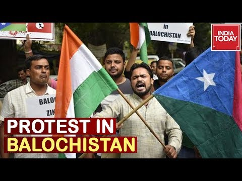 Pak's Global Isolation : Posters & Banners Against Human Rights Violation In Balochistan